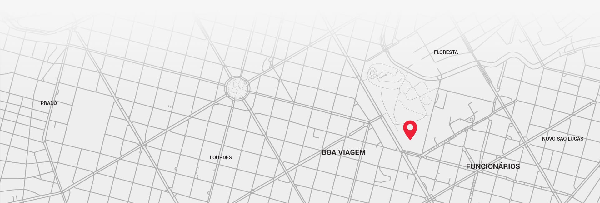 Mapa do local do evento